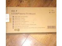 "Still sealed in box. Silver LCD & Plasma TV mount. 26""-37"" (36.4kg).Tilts, has screen adaptor plate"