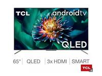 """TCL 75"""" smart Android HDR 10+ warranty"""