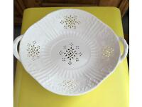 Leeds cream ware dish