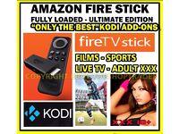 Amazon fire stick. Kodi 16.1✔MOBDRO✔MOVIES✔SPORTS✔KIDS✔XXX✔WORKOUT✔TV SHOWS✔