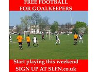 FREE FOOTBALL AND TRAINING FOR GOALKEEPERS, BECOME A GOALKEEPER, PLAY FOOTBALL IN LONDON
