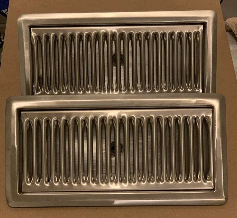 """(2) Draft Beer Tower Drip Tray 12""""x6"""" Surface Mount With Drain NEW!!"""