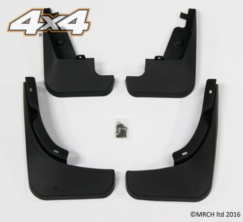 For Audi Q5 2009 - 2013 Mud Flaps Mud Guards set of 4 front and rear