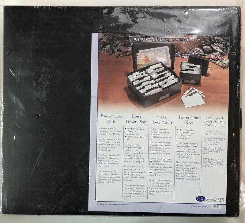 NEW Creative Memories Large Power Sort Box 2400 Photo Storage SEALED NIP