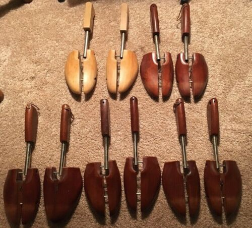 LOT OF 5 SETS ROCHESTER SHOE TREE COMPANY KEEPERS NUMBER 5 GENE MOHAWK