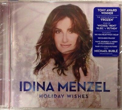 Idina Menzel   Holiday Wishes  Cd New  Sealed Frozen Star W  Michael Buble
