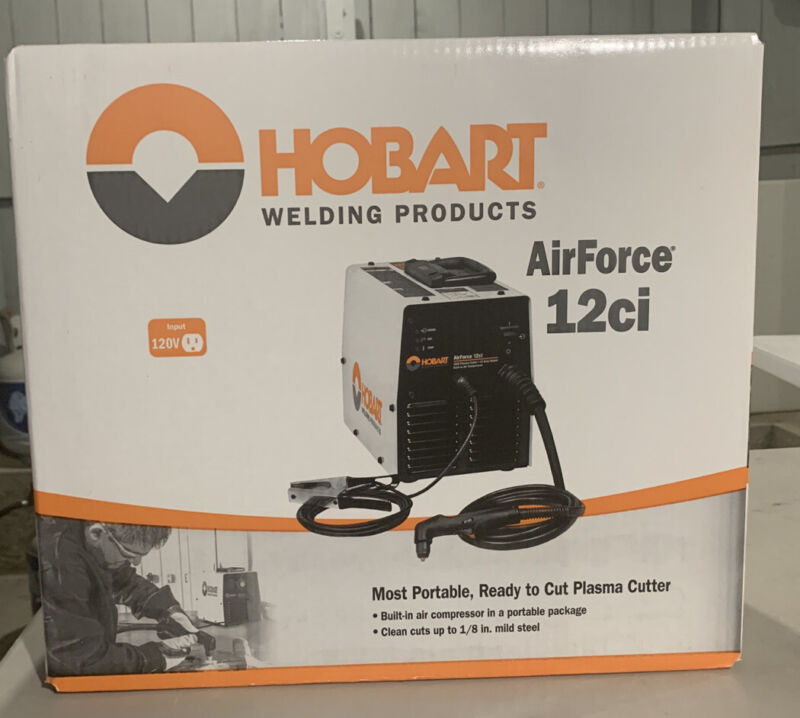 Hobart AirForce 12ci Plasma Cutter with Air Compressor 500564