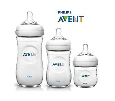 PHILIPS AVENT Natural Baby Feeding Milk Bottle BPA Free PP 4oz 9oz 11oz Genuine ()