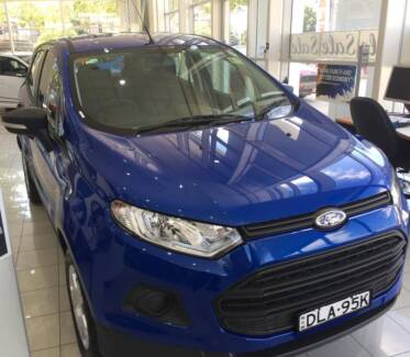 FORD ECOSPORT AMBIENTE 2016  1st owner bought  from Ford Feb 2017