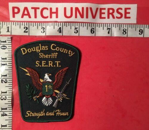 DOUGLAS COUNTY GEORGIA  SHERIFF  S.E.R.T.  SHOULDER PATCH  K010