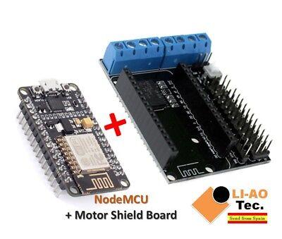 Nodemcu Cp2102 Esp12e Motor Shield Development Kit Wifi Esp-12e Esp8266