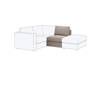 VIMLE Extra Spare COVER for 1-SEAT SECTION Tallmyra Beige 704.092.03 IKEA BNIB