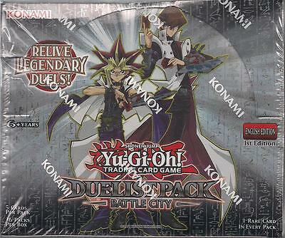Yu Gi Oh YGO Duelist Pack Battle City English Booster Box Sealed 1st Ed YUGIOH