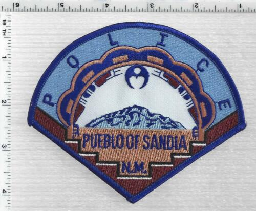 Pueblo of Sandia Police (New Mexico) 2nd Issue Shoulder Patch