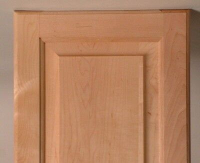 SRP Maple doors with drilling and hinges