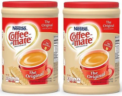 Coffee Creamer Powder Original Nestle Coffee Mate  Flip-Top 56-oz  2/packs (Coffee Creamer)