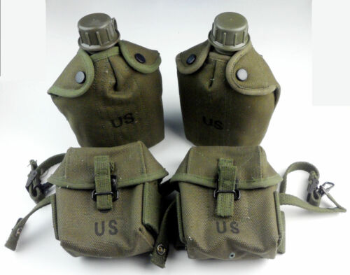 Vietnam War US Army M1956 Ammo Pouch M16A1 Pouches Pack Case Bag M1956 Canteen