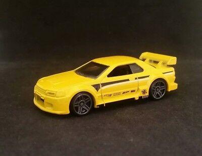Hot Wheels Nissan Skyline GT-R (R32) Yellow Nightburnerz 5 Pack Exclusive LOOSE