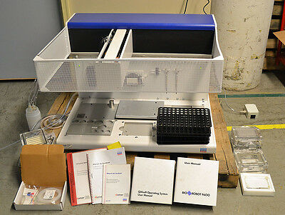 Qiagen Biorobot 9600 Automated Robotic Liquid Handling Laboratory Workstation