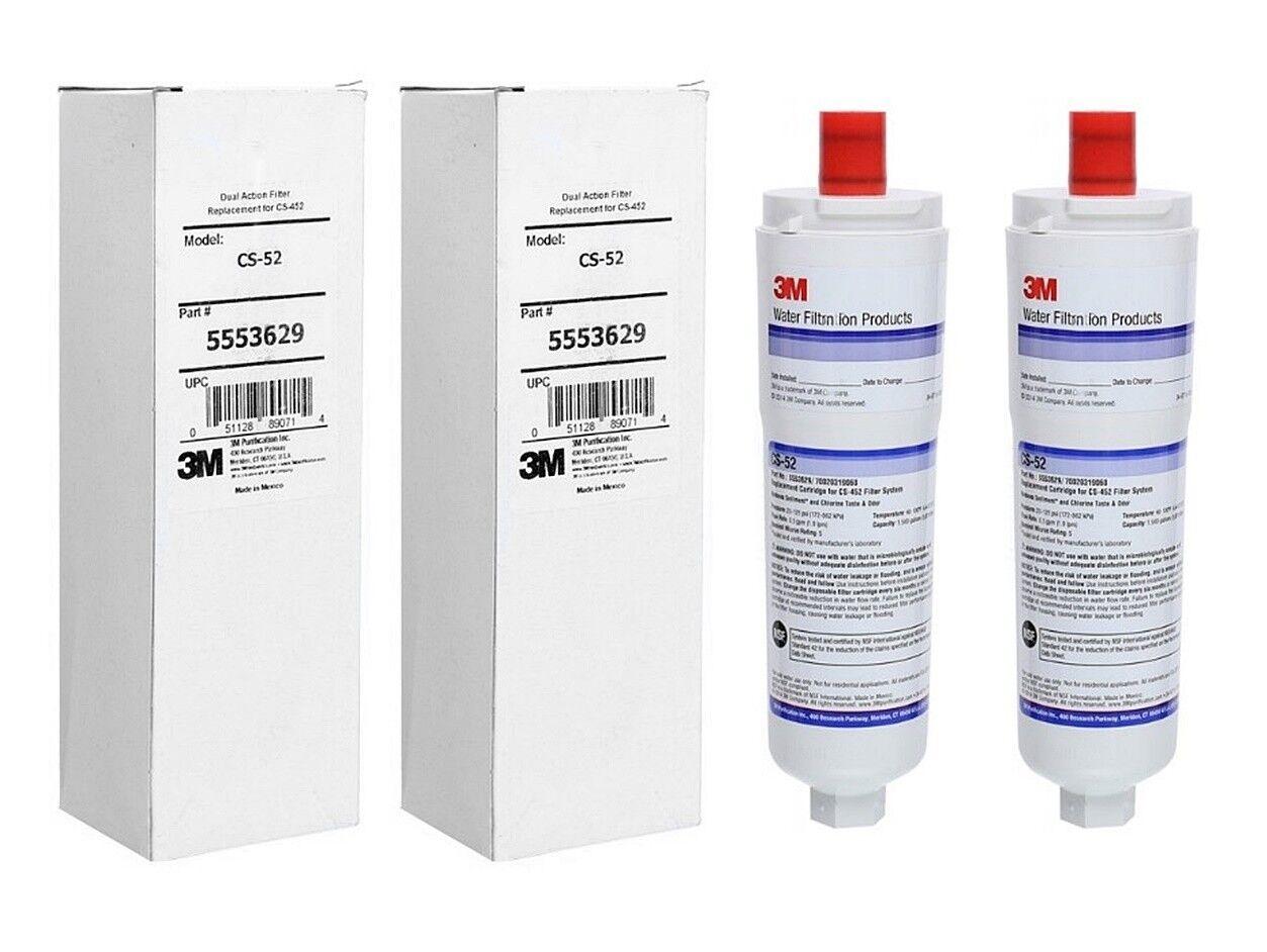 2 x finerfilters Compatible Bosch Neff Siemens CS-52 CS52 640565 Filtre à Eau