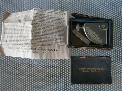 Shore Instrument Durometer Hardness Type A With Instructions