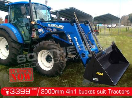 DIGGA 2000 mm 4 in 1 Bucket suit Tractor Front End Loader Darra Brisbane South West Preview