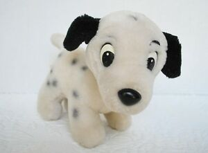 WALT-DISNEY-WORLD-VINTAGE-PLUSH-101-DALMATIANS-LUCKY-PUPPY-DOG-7-WHITE-STUFFED