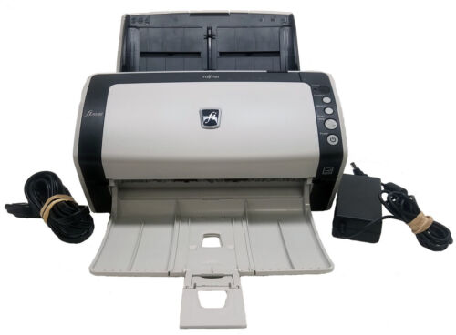 Fujitsu fi-6130Z Color Duplex Scanner With A/C Adapter (Scan Count: 50,169)