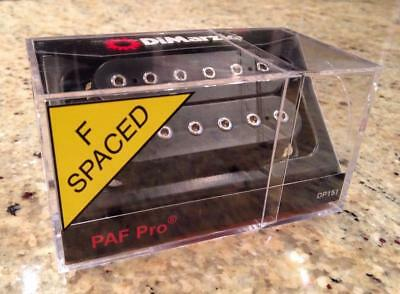DIMARZIO DP151F - Black PAF Pro Pickup fits Ibanez Steve Vai JEM RG Joe Satriani for sale  Leigh