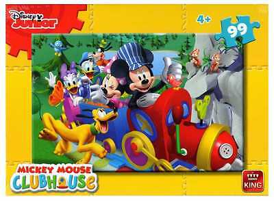 Childrens Kids 99 Piece Jigsaw Puzzle Toy Mickey Mouse Clubhouse 05691B