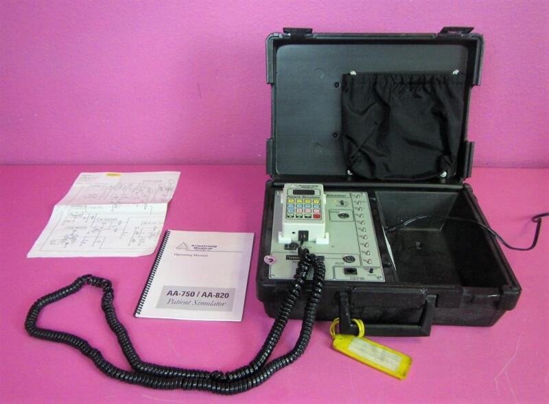 Armstrong Arrhythmia Anne Chris Manikin AA-750 Defib ECG Respiratory Simulator