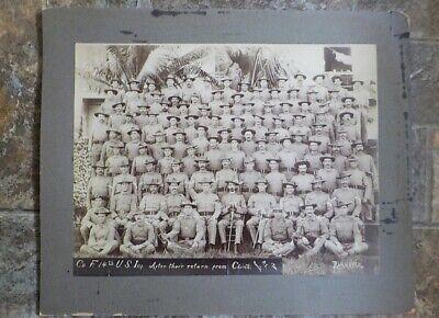 14th US Infantry Co. F 1900  Boxer Rebellion Manilla, P.I.