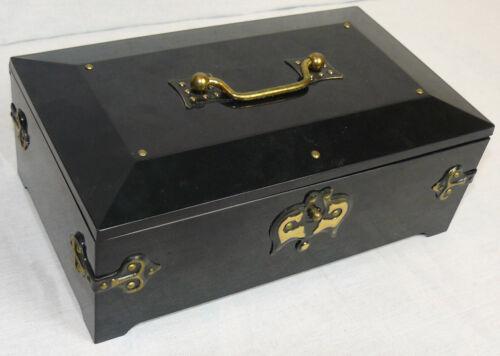 Casket Vintage Russian Soviet Jewellery Large Music Box Mechanical Case USSR