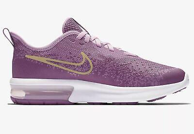 wholesale dealer 78240 71f69 Nike Air Max Sequent 4 Mädchen, Girls, Gr. 35,5 Rosa Violett Gold AQ2245 501