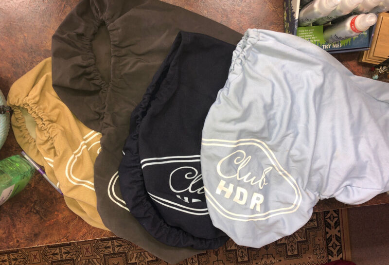 Club HDR English Saddle Covers
