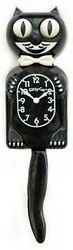 Kitty-Cat Klock - 3/4 Black