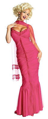 Marilyn Monroe Bernard Hollywood Pink Fancy Dress Halloween - Fancy Dress Marilyn Monroe