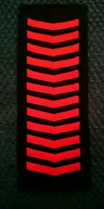 Sea Cadet Corps Nautical Training Corps 12 Red Good Conduct Badges GCB. SCC NTC