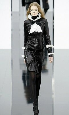 Very Rare Chanel Runway Sequin Dress NWT (Retail $7500)