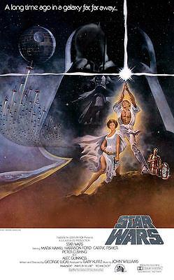 "Star Wars ( 11"" x 17"" ) Movie Collector's Poster Print -B2G1F"