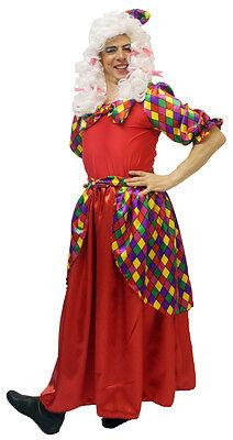 Pantomime Dame / Witwe Twanky / Ugly Schwester Rot Maskenkostüm & - Rote Witwe Kostüm