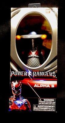 "Bandai Sabans Power Rangers : Alpha 5 Action Figure 8"" **NEW** ••FREE SHIPPING••"