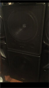 """DJ 18"""" subwoofers  (( only used at home )) Dandenong Greater Dandenong Preview"""
