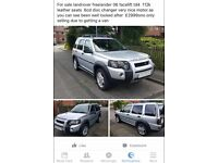 Free lander land rover excellent condition only selling due to new vehicle