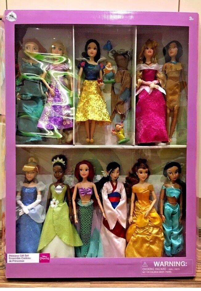 Deluxe Disney Store Princess Classic 11 8 Quot Dolls Set Of