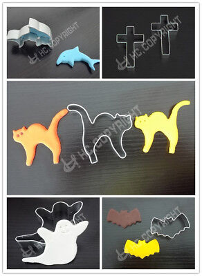 Halloween Metal Cookie Biscuit Pastry Fondant Cake Cutter Decor Mould Tool Mold (Halloween Biscuits Decoration)
