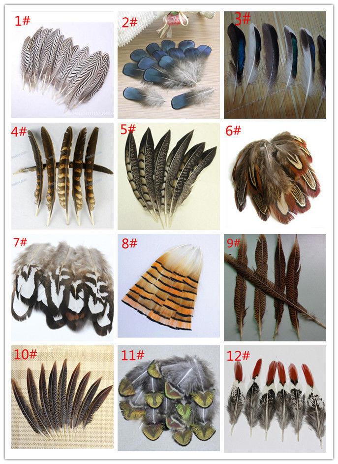 Подготовка перьев для поделок 1