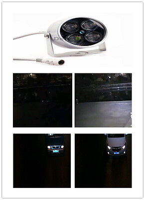 4SMD LED Infrared IR Light Night vision illuminator 50M for IP CCTV CCD Camera