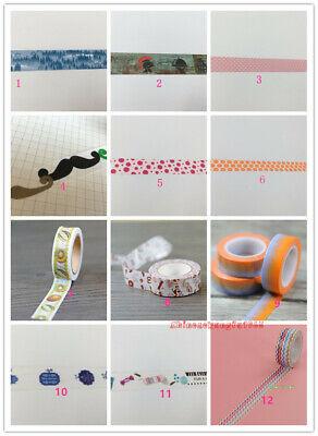 Sale 0.99 Masking Washi tape Animal Flower Wedding XMAS Kitty Floral (Christmas Tape)