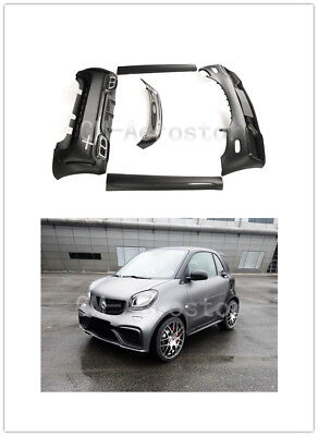 Portion  Carbon  Fiber Body  Kit   For 15-17 Smart Fortwo C453 & Forfour W453